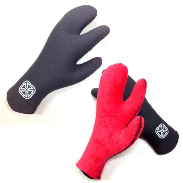 X-tend Gear エクステンドギアー キッズ用 2.5mm Air Pile Robster Glove エアーパイルロブスターグローブ/子供用 防寒サーフ用品