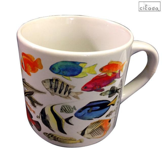 cicada お魚マグカップ ミニ ラッセル・ウィルス