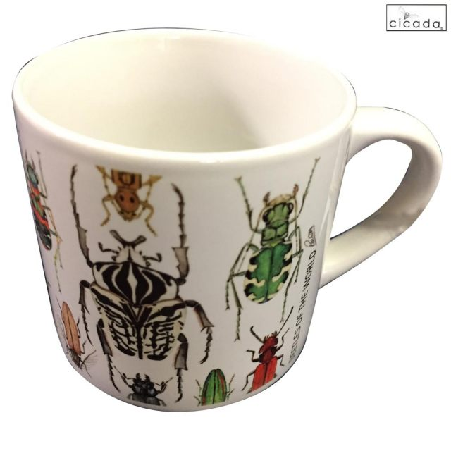 cicada 昆虫 マグカップ ミニ ラッセル・ウィルス