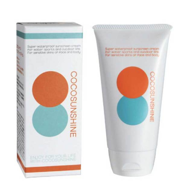 COCO SUNSHINE 日焼け止め サンスクリーンクリーム/ココサンシャイン SPF45+++ サーフィン UV対策