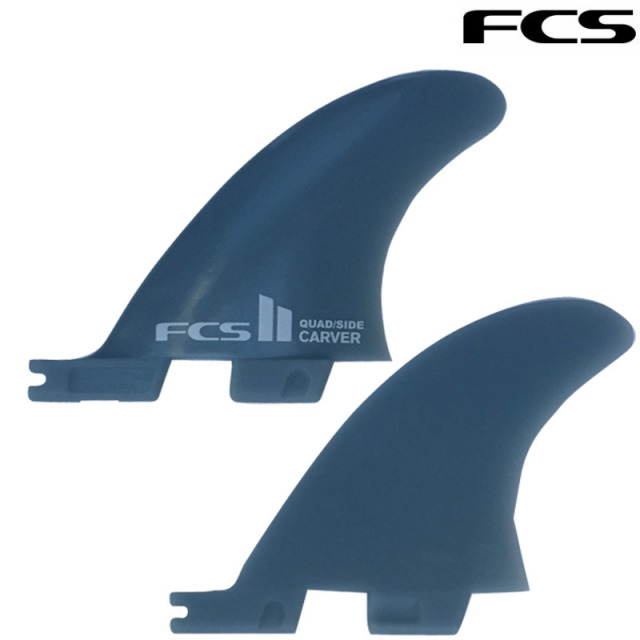 FCS2 CARVER Quad Rear Side Byte PG Small ハイパフォーマンスフィン/ツインフィン ショートボード サーフィン