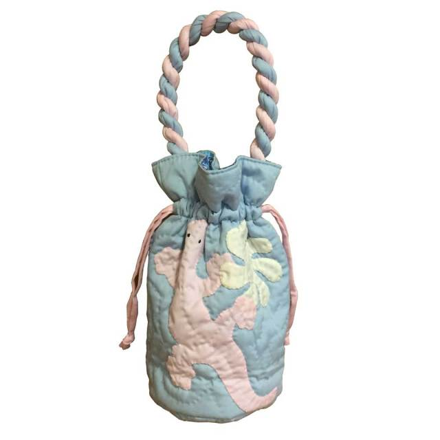ハワイアンキルト バッグ トカゲ×ティアレ柄/Hawaiianquilt レディースバッグ