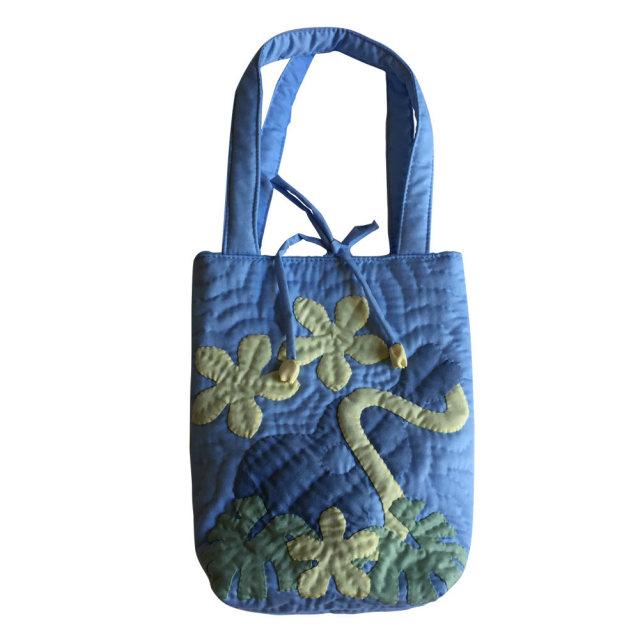 ハワイアンキルト Hawaiian Quilt モンステラショルダーバッグ レディース 雑貨