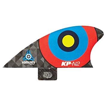 KOMUNITY PROJECT コミュニティ フィン Bullseye Nubsters-N2 レッド/サーフィン ショートボード クワッド