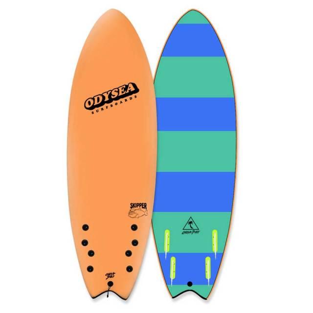 ソフトサーフボード CATCH SURF ODYSEA SKIPPER FISH 6'0 HiPerformance Quad/ソフトボード サーフィン