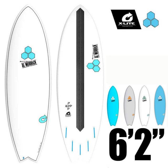 TORQ Surfboard アルメリック ポッドモッド CI-PODMOD-X-LITE 6'2