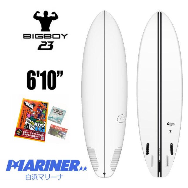 """ファンボード TORQ SurfBoard トルクサーフボード TEC BIG BOY 23 6'10""""/エポキシボード サーフボード サーフィン EPS"""