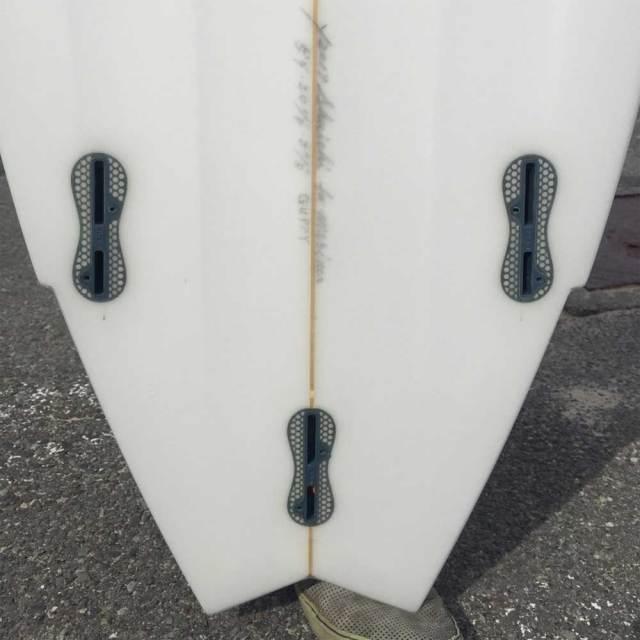 WaterFlash ウォーターフラッシュ サーフボード ショートボード GUPPY グッピー モデル 5'9/FCS2