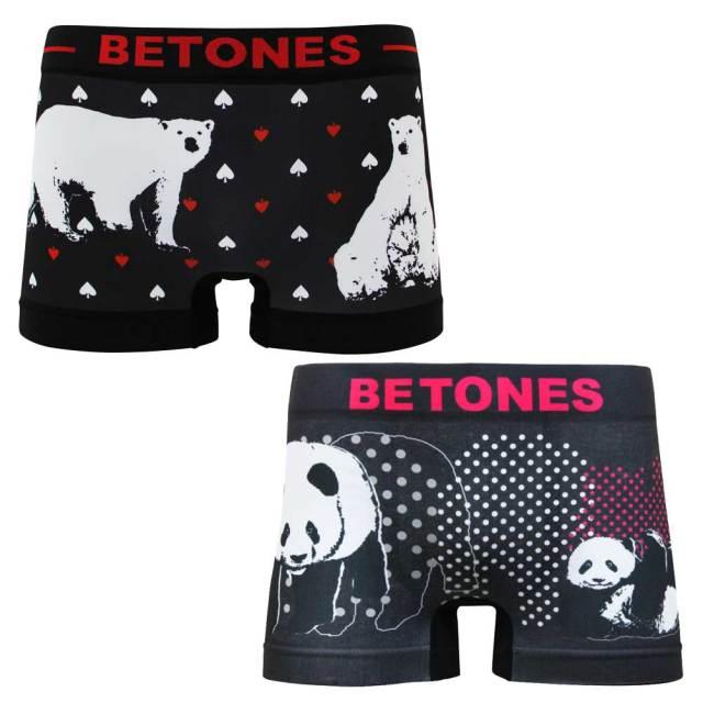 BETONES ビトーンズ ANIMAL4 アニマルフォー/メンズアンダーウェア/男性用下着 アンダーパンツ ボクサーパンツ