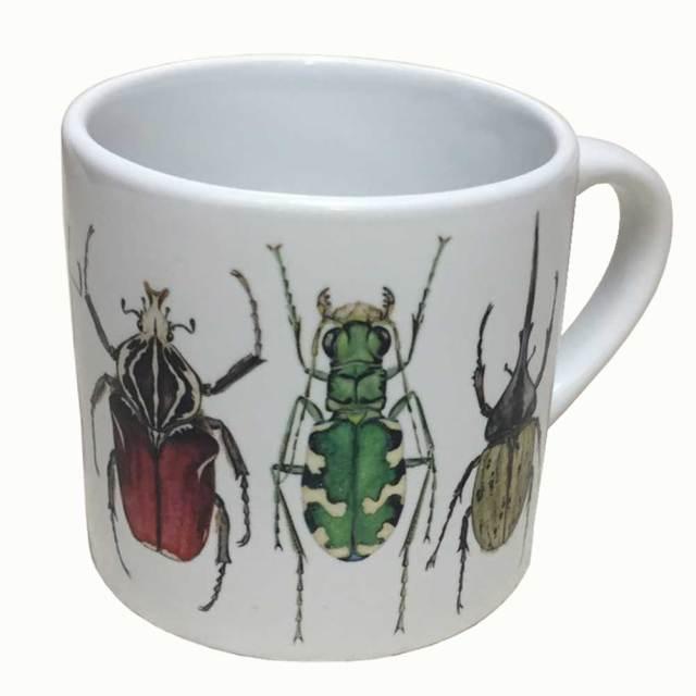 cicada 昆虫 マグカップ ミニ2 ラッセル・ウィルス