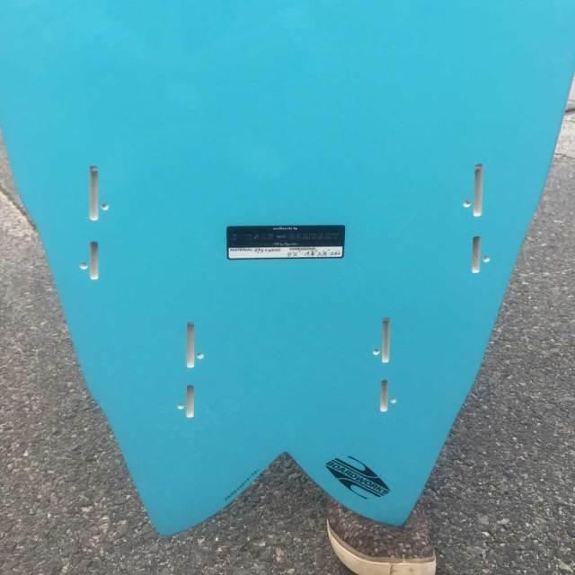 HYNSON SURFBOARDS BLACK KNIGH QUAD 5'2 ヒンソン ブラックナイト クアッド