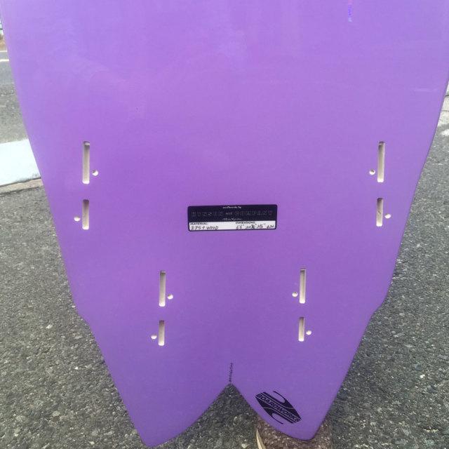 HYNSON SURFBOARDS BLACK KNIGH QUAD 6'6 ヒンソン ブラックナイト クアッド