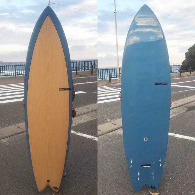 HYNSON SURFBOARDS BLACK KNIGH QUAD 6'8 ヒンソン ブラックナイト クアッド
