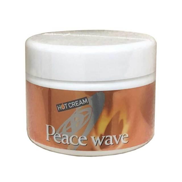 PEACE WAVE ピースウェーブ HOT CREAM ホットクリーム/ボディクリーム 180g サーフィン 防寒用ジェル 温感ジェル 防寒サーフィン用品