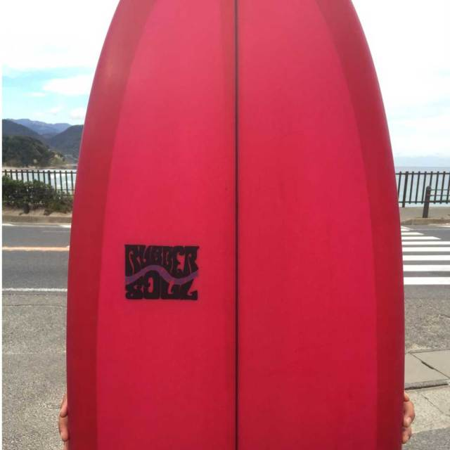 RUBBER SOUL SURFBOARD Fishes 5'11 ラバーソウルサーフボード/ショートボード