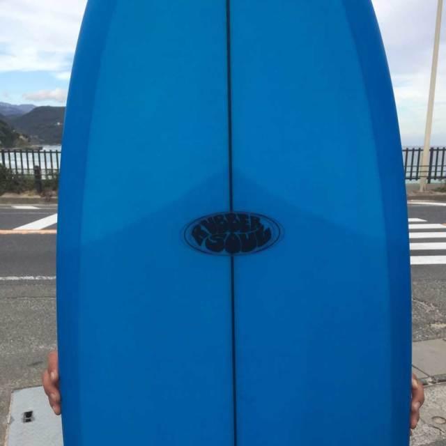 RUBBER SOUL SURFBOARD Fishes 5'8 ラバーソウルサーフボード/ショートボード