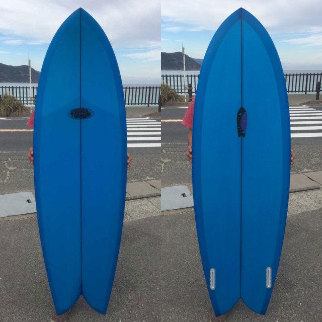 RUBBER SOUL SURFBOARD Fishes 5'8 ラバーソウルサーフボード/ショートボード FUTURE