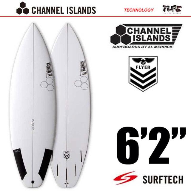 サーフボード CHANNEL ISLANDS チャネルアイランズ New Flyer6'2