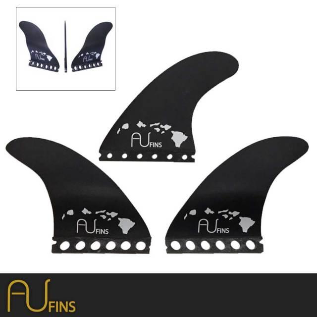AU FIN  エーユーフィン AU  2  グラスフィン Lサイズ Full Base フューチャータイプ/ショートボードフィン FUTURE サーフィン