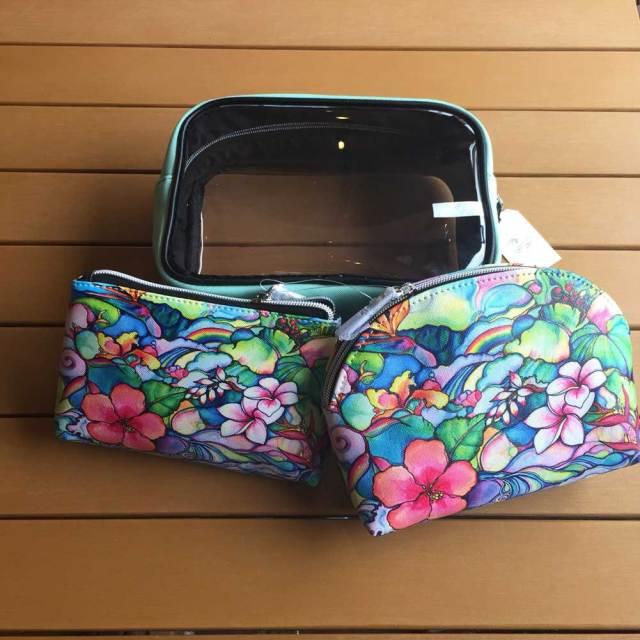【日本限定モデル】スクエア3点ポーチ Island Style 1118S31209-013 カラーマルチ