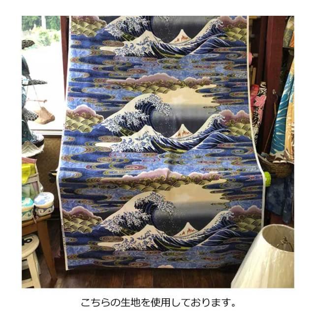 パウスカート シングル大人用 Mt.FUJI&WAVE柄/フラダンス