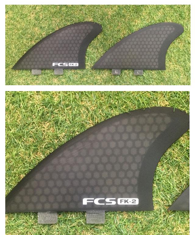 FCS フィン FK-2 TWIN Performance Core  パフォーマンスコア フィッシュ用キールフィン  ツインフィン