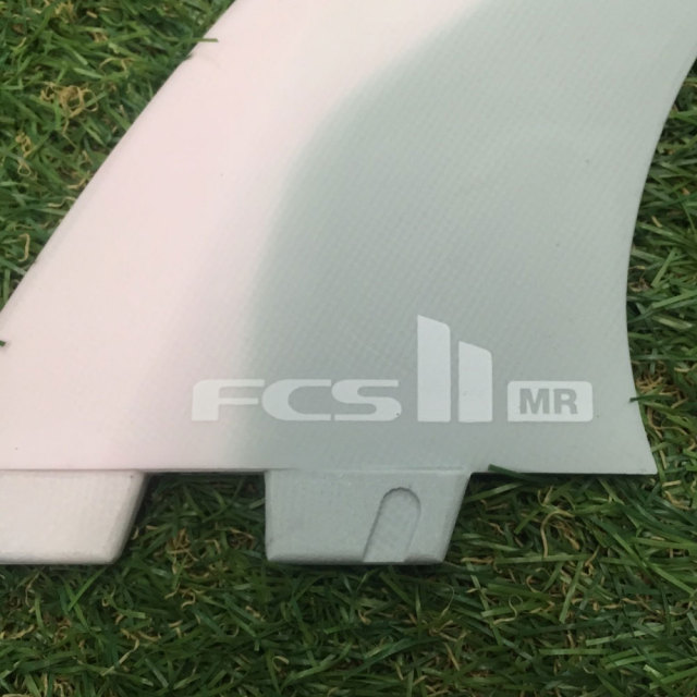 FCS2フィン MR  PC マークリチャーズツインスタビライザー3フィン 限定カラー ピンク/グレー Mark Richard's Shaper fin
