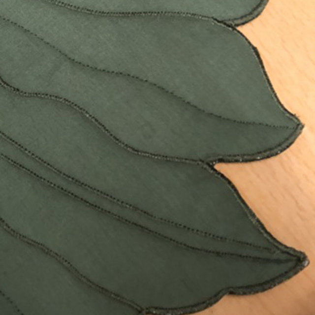 ハワイアンキルト Hawaiian Quilt  ランチョンマット『モンステラ』/ハワイアン小物 ハワイアン雑貨 インテリア キッチングッズ