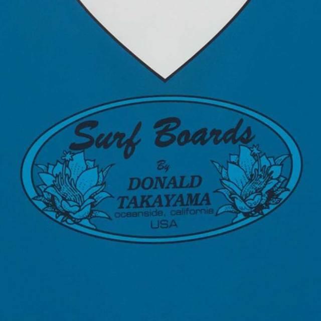 ロングボード SURFTECH HAWAIIAN PRO DESIGNS ドナルドタカヤマ IN THE PINK 8'6 Blue