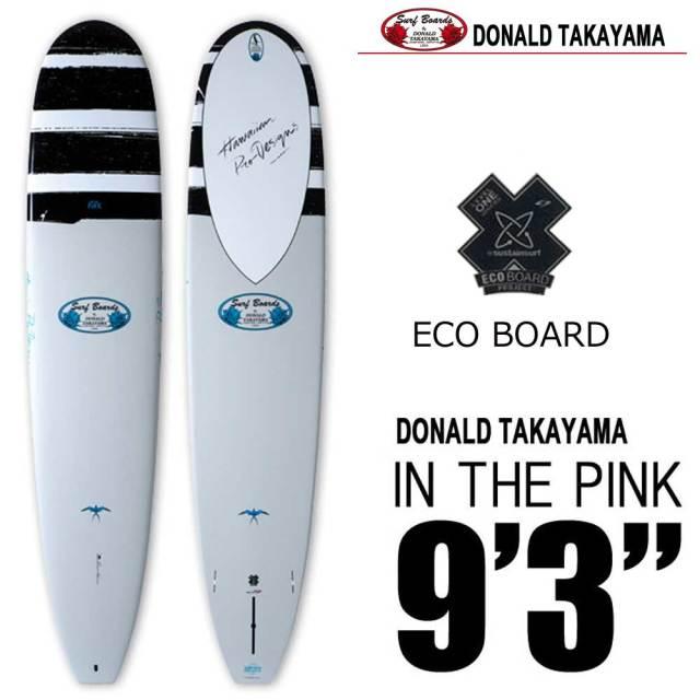 ロングボード SURFTECH HAWAIIAN PRO DESIGNS ドナルドタカヤマ IN THE PINK 9'3  White/Blue/サーフボード サーフテック ハワイアンプロデザイン インザピンク エポキシ