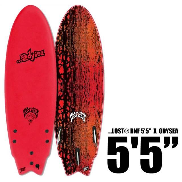 ソフトサーフボード CATCH SURF ODYSEA × LOST RNF 5'5/ショートボード フィッシュ