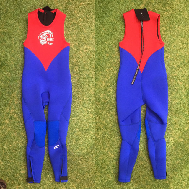 O'NEILL オニール子供用ウェットスーツ YOUTH ユース SUPERFREAK  WF-5300/ロングジョン+LSジャケットセット