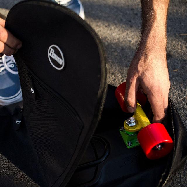 Pennyペニー アドベンチャーパック BLACK/スケートボード用バッグ