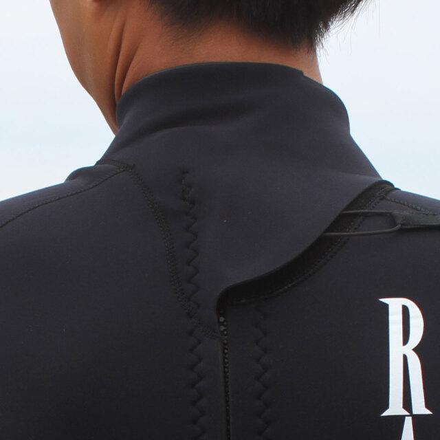 RASH ラッシュ ウェットスーツ メンズ スプリングスーツ ロングスプリング ファスナータイプ 3.5mm×2mm