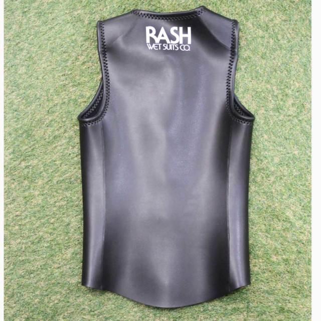 RASH ラッシュ メンズウェットスーツ LX 限定 ベスト フロントファスナー