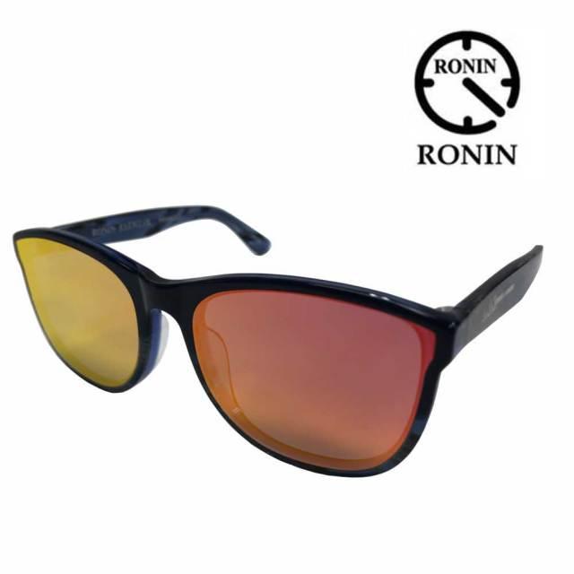 RONIN サングラス ロニン 湘南乃風 レッドライスモデル フレームカラー マットブラック/偏光レンズ アイウェア