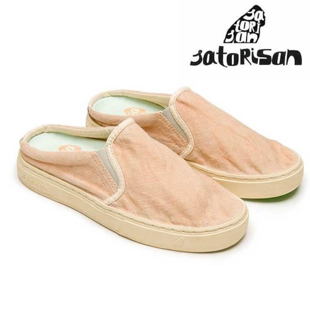 SATORISAN サトリサン シューズ SOUMEI CLOG LINEN MELON/ユニセックス 靴 スニーカー