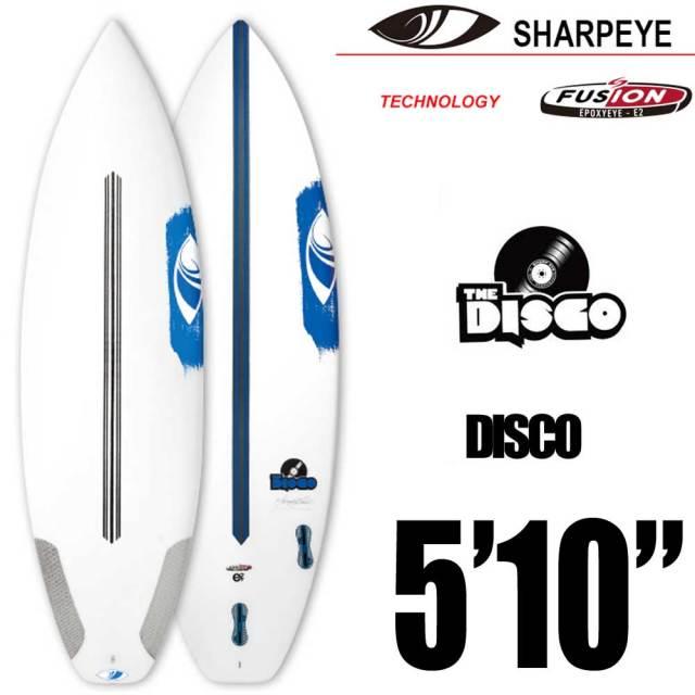 ショートボード SURFTECH SHARPEYE  DISCO 5'10 サーフテック シャープアイ ディスコ/FCS 2 3FIN