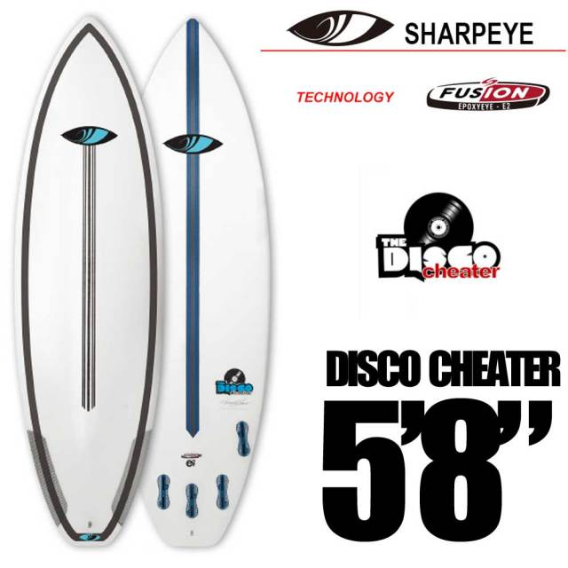 ショートボード SURFTECH SHARPEYE  DISCO  CHEATER 5'8