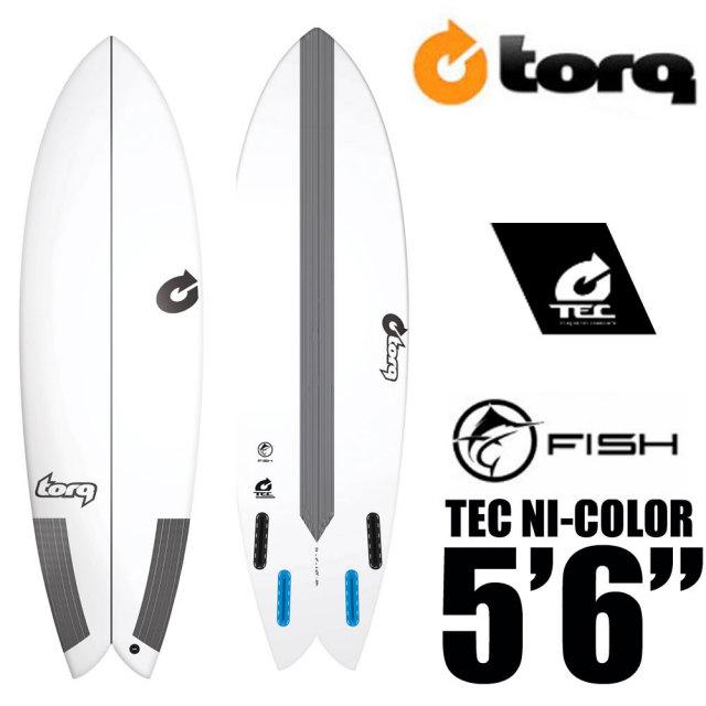 TORQ Surfboard トルクサーフボード TEC FISH 5'10 EPS/フィッシュ エポキシ ショートボード