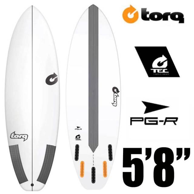 TORQ Surfboard トルクサーフボード PG-R 5'8