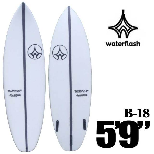 Water Flash  SURFBOARDS ウォーターフラッシュサーフボード EPS  US Bー18 5'9/ショートボード サーフ FUTURES