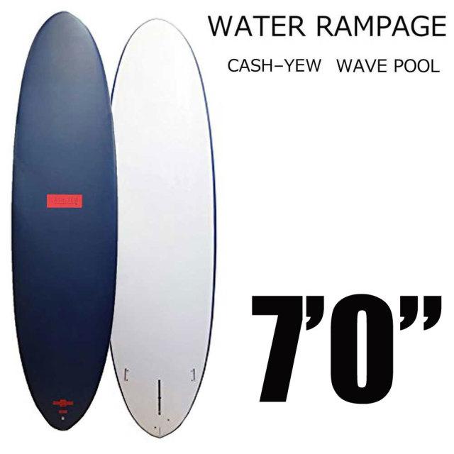 WATER RAMPAGE WP-612 WAVE POOL 7'0 ウォーターランページ サーフボード ウェーブプール ファンボード ソフトボード スポンジボード