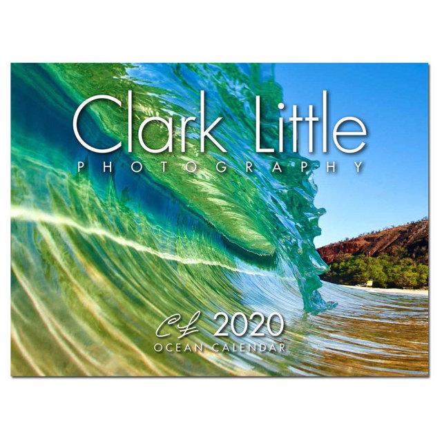 壁掛け カレンダー 2020 クラーク・リトルカレンダー 2020年 Clark Little OCEAN CALENDER