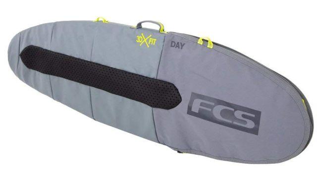 FCS エフシーエス サーフィン ハードケース 3D DAY FUNBOARD 6'7 ファンボード用 BDY-067-FB-CGY ショートボード
