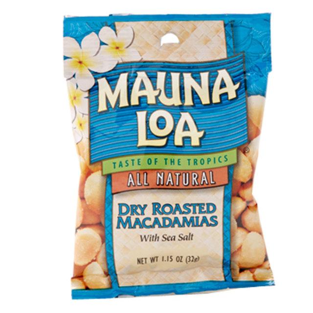 ハワイアンホースト マウナロア 塩味 マカデミア ナッツ Sサイズ 32g Hawaiian Host おつまみ パーティー プチギフト バレンタイン