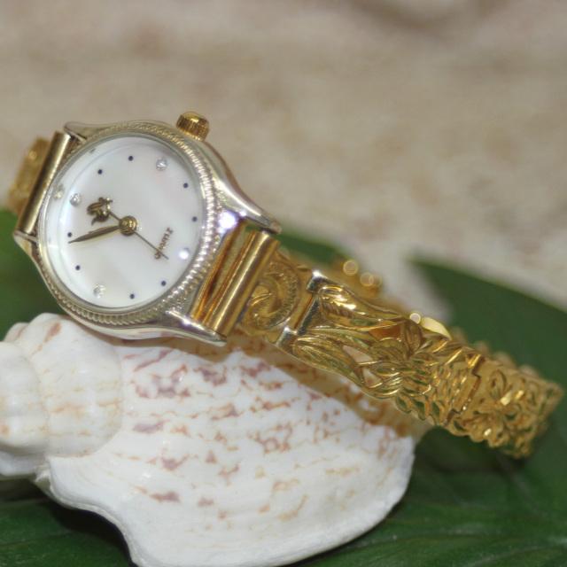ハワイアンジュエリー シルバー時計