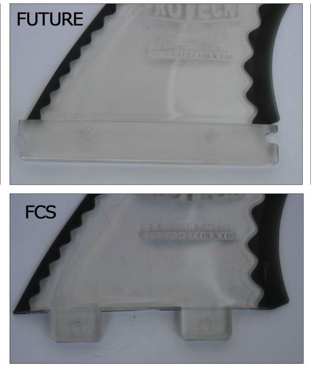 ショートボード用 ソフトフィン プロテック フィンパワーフレックス 4.5  PROTECK FIN POWER FLEX 4.5