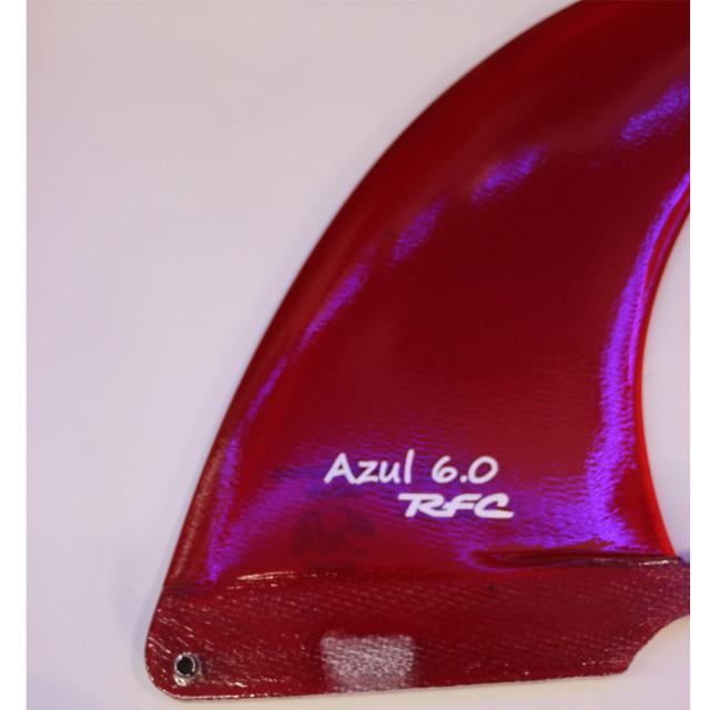 """RAINBOW FIN レインボーフィン ロングボード用フィン AZUL 6.0"""""""
