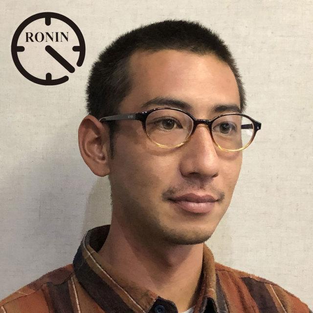老眼鏡 おしゃれ メンズ ロニンアイウェアー リーディンググラス RG1 シニアグラス Ronin Eyewear RONIN Reading Glass Type-One ブルーライトカット対応モデル +1.0 +1.5 +2.0